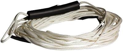 Jobe Leinen und Hanteln Trick Ski Rope - Cuerda de esquí acuático y deportes de arrastre, color blanco