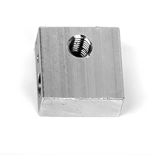 Aluminium Blockheizung - TOOGOO(R) Heizung Block Aluminium Extruder 3D-Drucker