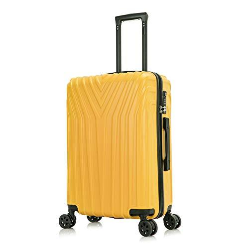 OM HOME Maleta Equipaje de Mano Cabina ABS+PC 20'' Ligera Resistente Rápida con candado TSA 55CM Apta para cualquier tipo de compañía aérea