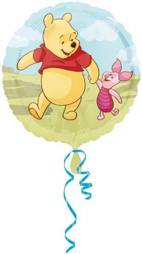 nie Pooh (Puuh) und Freunde, 45 cm Durchmesser Ballon, Luftballon (Winnie Pooh Und Freunde)