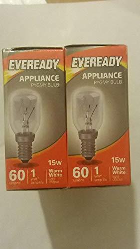 Eveready 3 Stück Glühbirne, Spezial-Leuchmittel für Himalaya-Salz-Lampe mit einer kleinen Schraube