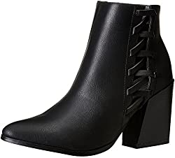 Forever 21 Womens Black Boots - 7 UK/India (39 EU)(9 US)(0018868401)