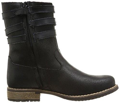 Minibel Haboucle, Boots fille Noir (67)