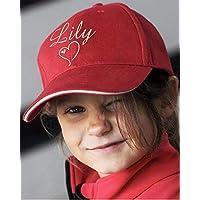Casquette enfant personnalisée prénom, cadeau anniversaire, garçon fille, sport loisirs chapeau