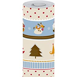Maildor 211300C - Papel de regalo con motivo navideño (50 x 0.7 m)