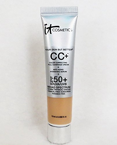 It Cosmetics Your Skin But BetterTM CC Cream with SPF 50+ Travel Size Light 0.406oz by It Cosmetics