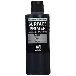 Vallejo Model Color 200 ml Polyurethane Primer - Black