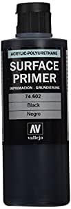 Vallejo Modèle Couleur 200ml Enduit de polyuréthane noir