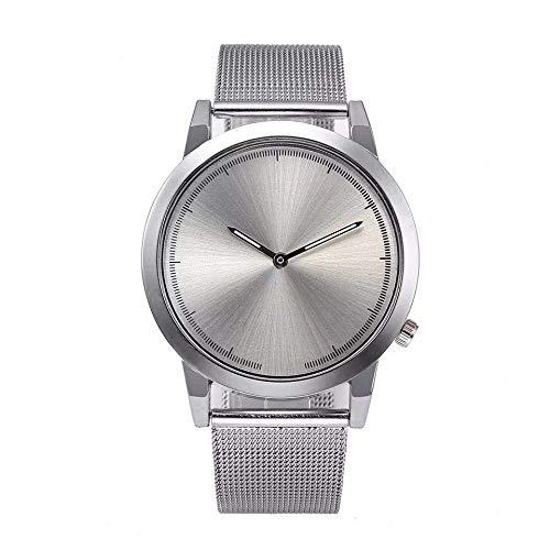 Uhren Damen Armbanduhr Edelstahl Sportuhr Mode Frauen Runde Quarz Analog Uhr Armband Klassisch Uhr Mode Uhrenarmband,ABsoar
