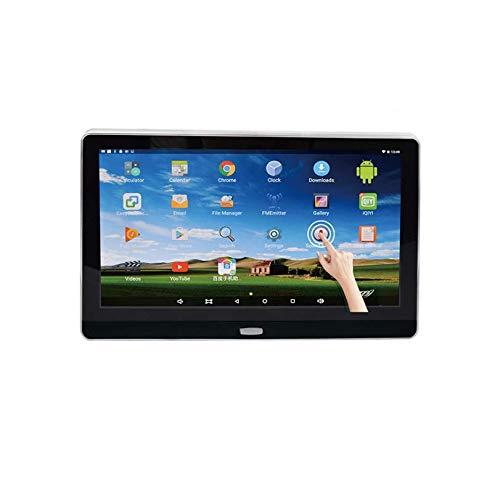 Hahaiyu Auto Kopfstützen Monitor, 11,6 Zoll Android 6.0 HD 1080P MP5 IPS Touchscreen Unterstützung 3G WiFi, USB, SD, HDMI, IR, FM, Bluetooth, Lautsprecher (Wifi-auto-kopfstütze Monitor)