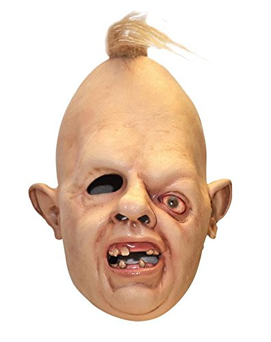 Latex Sloth mask from The Goonies 1980's Fancy Dress by Coopers tm