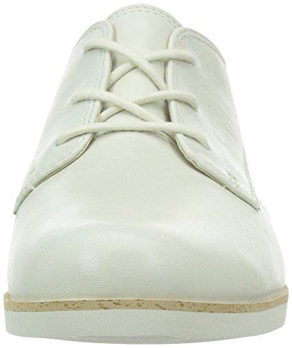 Clarks - Hamble Myth, Scarpe stringate Donna Bianco (Off White Lea)