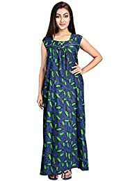 Piyali s Creation Women s Multicolor Coloured Cotton Made Night Dress  Nighty for Women s-PCW0000645 36b98bf60
