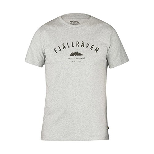 Fjällräven Herren Trekking Equipment T-Shirt Grey (020)