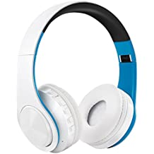 Auriculares Inalámbricos Bluetooth, WolinTek Wireless Over-Ear Headphone con Micrófono & 3,5mm