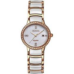 Luxury ceramic watches/ diamond-waterproof watch/Ultrathin ladies watch-A