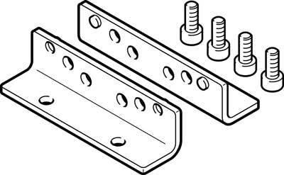 HPE-80 (558322) Fußbefestigung Produktgewicht:150g Werkstoffhinweis:RoHS konform