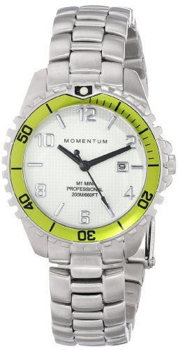 Momentum Womens Analogue Classic Quartz Watch with Stainless Steel Strap 1M-DV07WL0