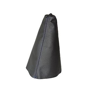 Für Citroen Xsara Picasso 1999-2010Schaltsack schwarz Italienisches Leder Blau Naht