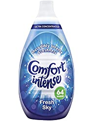 Comfort Intense Sky Fabric Conditioner, 64 Wash, 960 ml