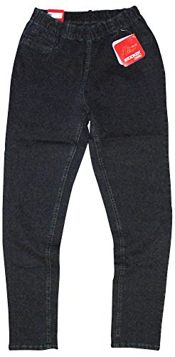 Stooker Florida Damen Sommer Slim Stretch Jeans leichte Hose 7414 - Blue  Black