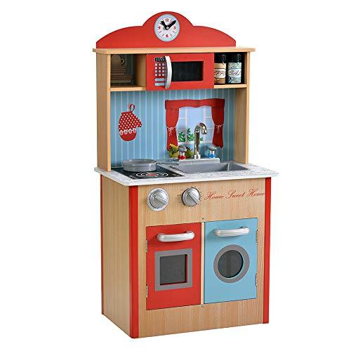 ColorBaby - Cocina madera 48 x 29 x 91 cm - Colors (85288)