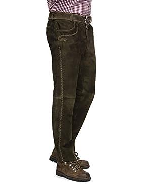 Herren Trachten Lederhose von der Marke STOCKERPOINT in verschiedenen Farben, Rocco3