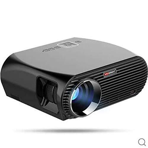 SYM 200W 3200 Lumens 1280 x 800 Pixels HDMI VGA Support 1080P LCD Projector Built-in Speaker - BASIC VERSION