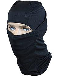 Balaclava Tactical negro abierta de la capilla de la cabeza