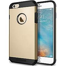 EZZYMOB - Carcasa muy resistente, a prueba de golpes, para iPhone 6, iPhone 6S, iPhone 6 Plus en muchos colores, plástico, dorado, iPhone 6 Plus 5.5 inch