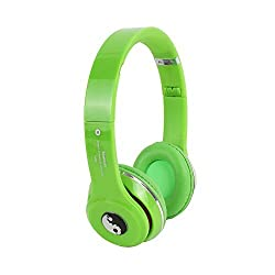 Acid Eye S460-GREEN Bluetooth Headphone With FM and Calling