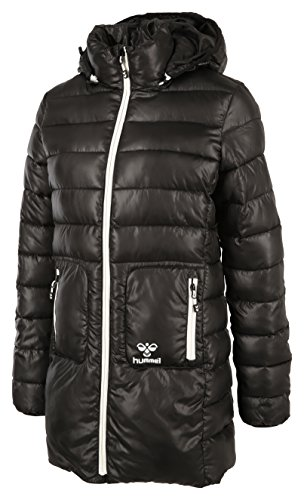 Hummel Damen Jacke Classic Bee Womens Bubble Jacket, Black, S, 80-733-2001 (Kapuze Jacket Bubble)