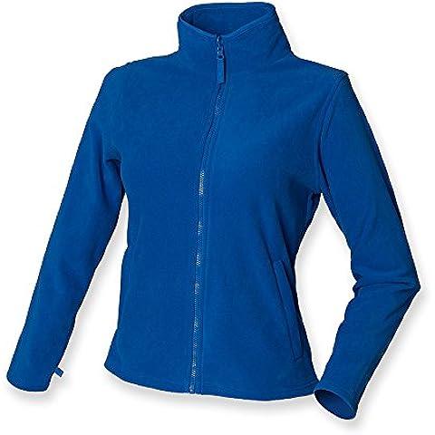 Henbury Mujer Micro chaqueta de forro polar