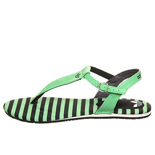 Adidas Pablina W Damen Sandalen schwarz/grün Modell: D67838, Größe:38