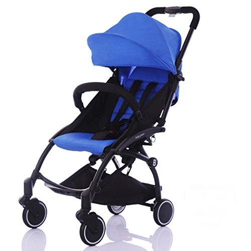 &Kinderwagen Kinderwagen schiebt Regenschirm Auto abnehmbare Armlehnen sitzen legen leichte Faltung (Farbe : 11#)