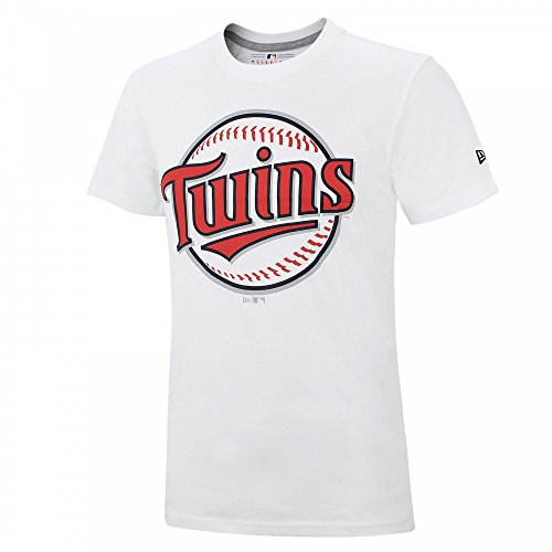 New Era Minnesota Twins Roundall Baseball MLB T-Shirt Weiß, S