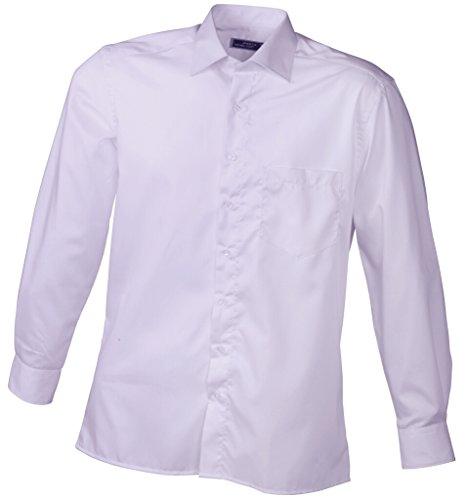 JAMES & NICHOLSON Camicia di facile stiratura Lilac