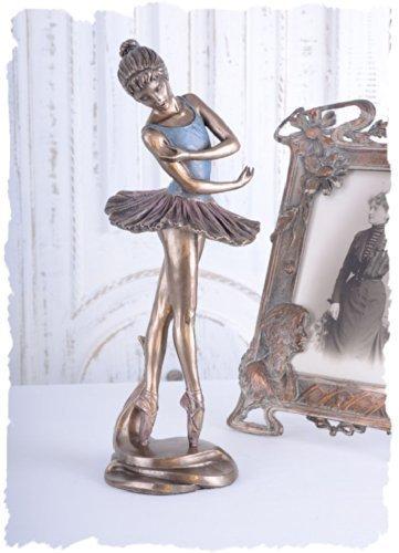 Ballerina Figur Ballett Tänzerin im Tütü Skulptur PALAZZO EXCLUSIV