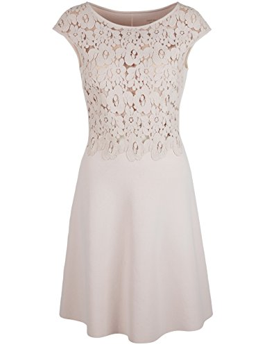 Marc Cain Collections Damen Kleid Beige (Shell 161)