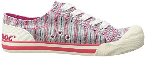 Dog Rocket Chaussons pink Pink L00 Sneaker Jazzin Femme Nantucket HwqwnZd67