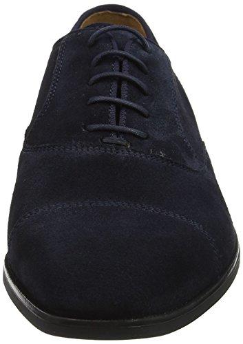 Geox U New Life e, Scarpe Stringate Oxford Uomo Blu (Navy)