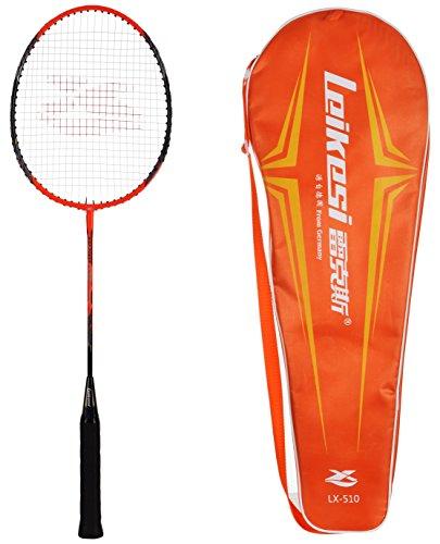 5. IRIS Carbon-Steel Badminton Racquet