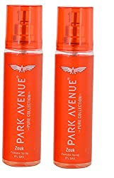 Park Avenue Pure Collection Zouk Perfume Spray, 135ml (Pack of 2)