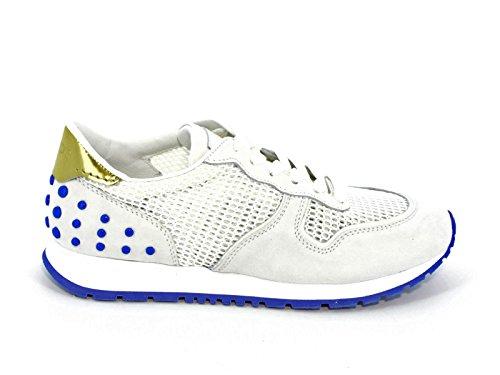 Sneakers Tod's donna in camoscio bianco e tessuto - Codice modello: XXW0YO0P260CNI9998 Bianco