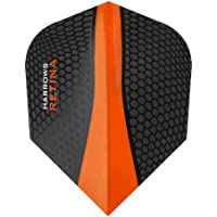 Harrows Retina Dart Flights - 5 Sets (15) - 100 Micron Extra Strong - Standard - Orange