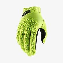 Sconosciuto 100% Men's Airmatic Glove, Guanti Unisex Adulto, Yellow/Black, XL