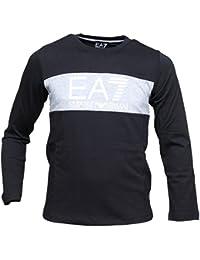 EA7 Emporio Armani - T Shirt garçon 6ybt55 - Bj30z 1200 Noir