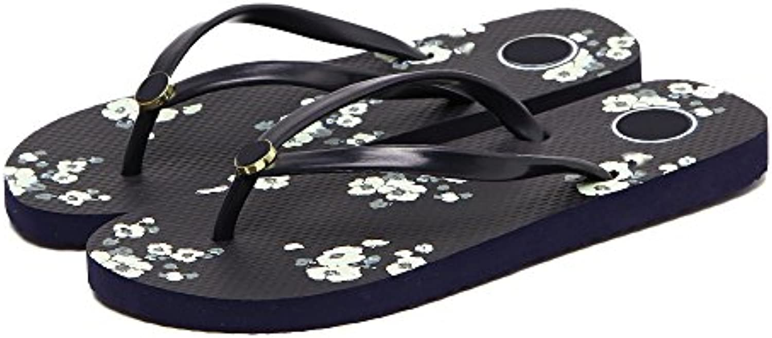 AWXJX Chanclas para mujer Diamante Artificial Flip Flops Pendiente con Inferior Grueso Antideslizante Seaside...