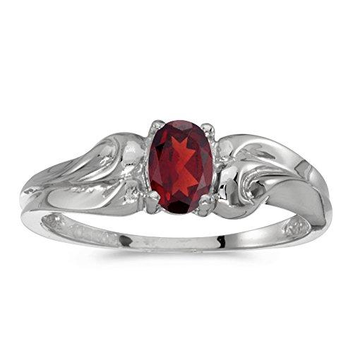10k-white-gold-oval-garnet-ring-size-75