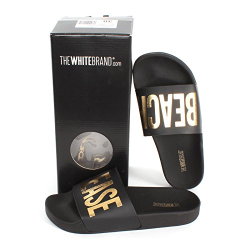 The White Brand  The White Brand, Chaussons Mules femme BEACH PLEASE